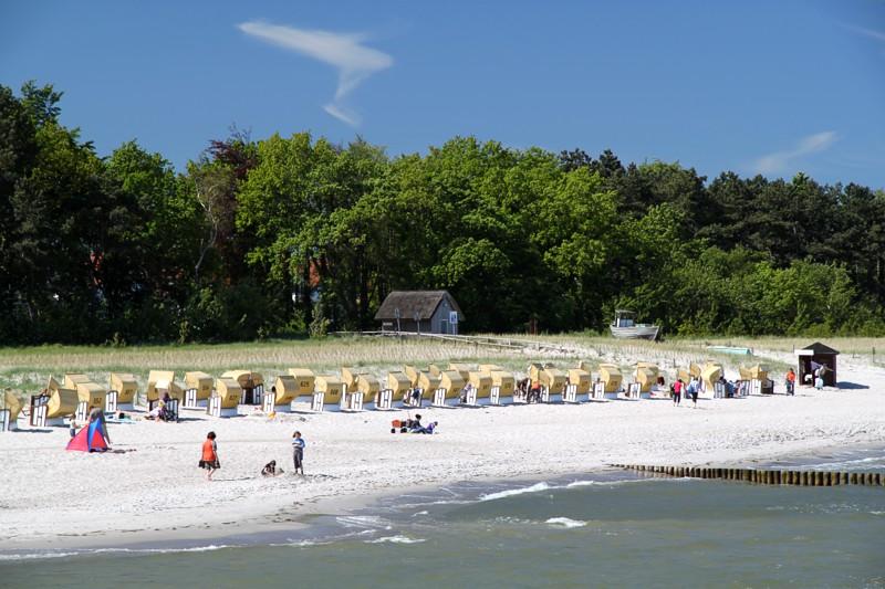 9e6ea325f754a Strandkörbe Strand Zingst Strand